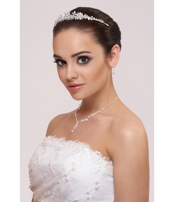 Tiara, Parure Boucles d'Oreilles et Collier - The Beautiful Bride Shop
