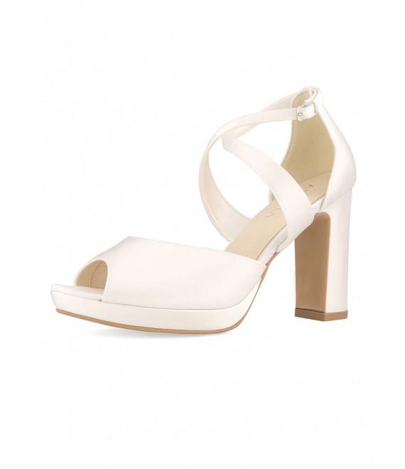 Rainbow Club Wedding shoe Brooke Off-White - The Beautiful Bride Shop 1