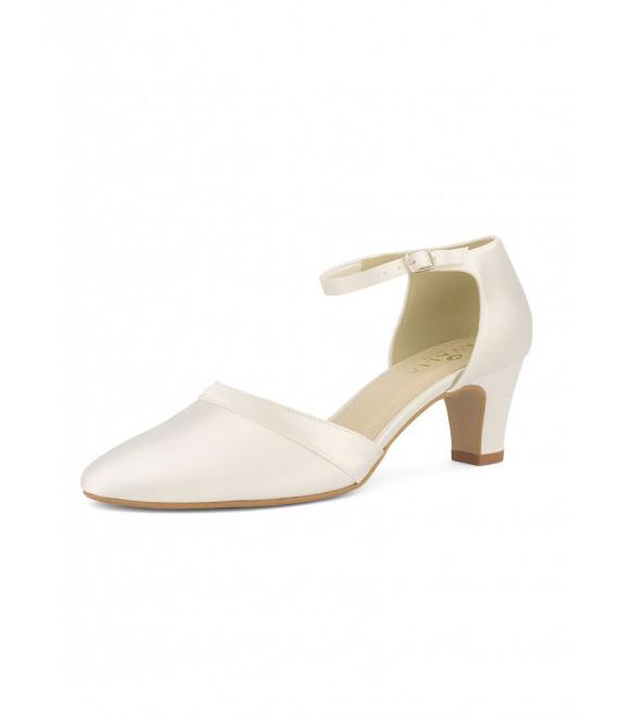 Chaussures de mariée Emma 1 | Avalia (Bianco Evento)
