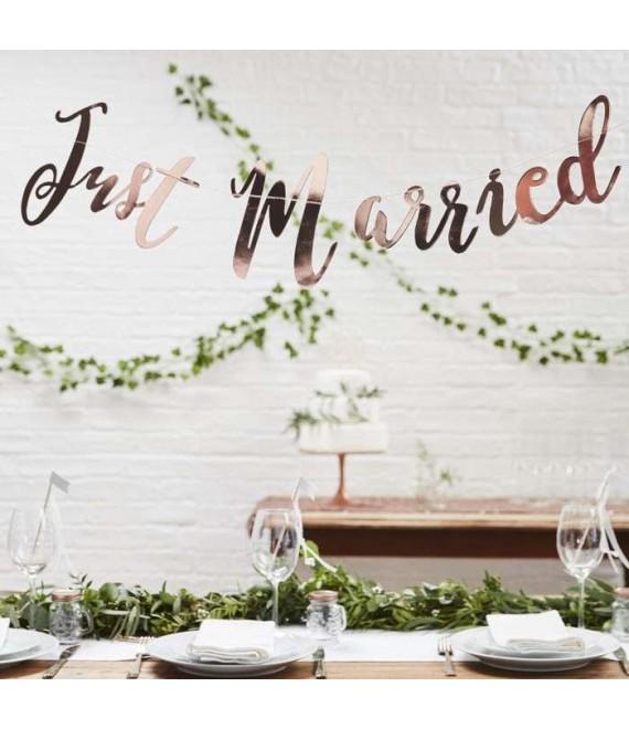 Guirlande Just Married - Beautiful Botanics - Beautiful Botanics