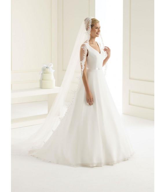 Bianco Evento Voile S129 - The Beautiful Bride Shop