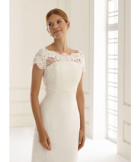Bolero E209   Bianco Evento - The Beautiful Bride Shop