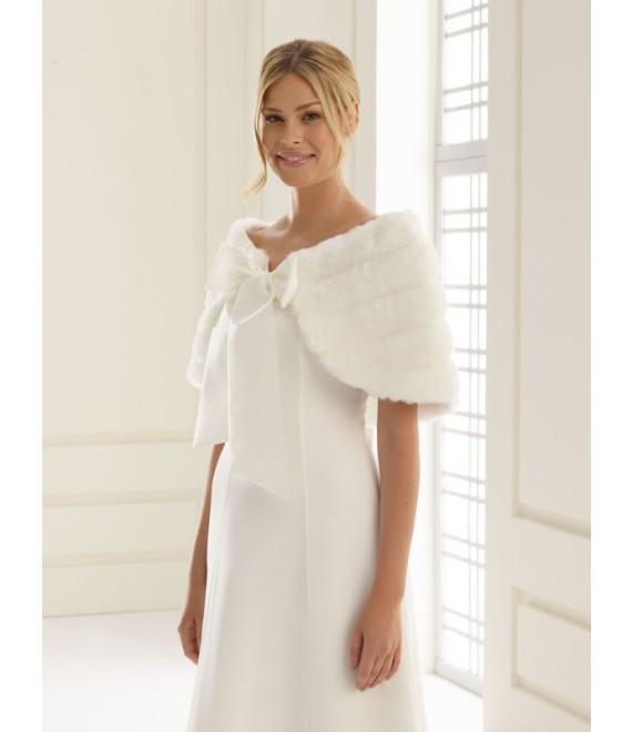 Boléro BBCE22 Bianco Evento - The Beautiful Bride Shop