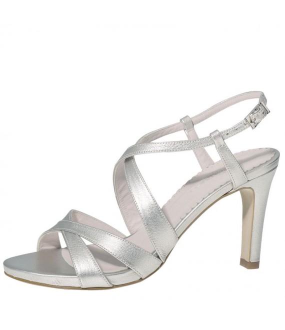 Fiarucci Bridal Chaussures de Mariée Sasja Argent- 1