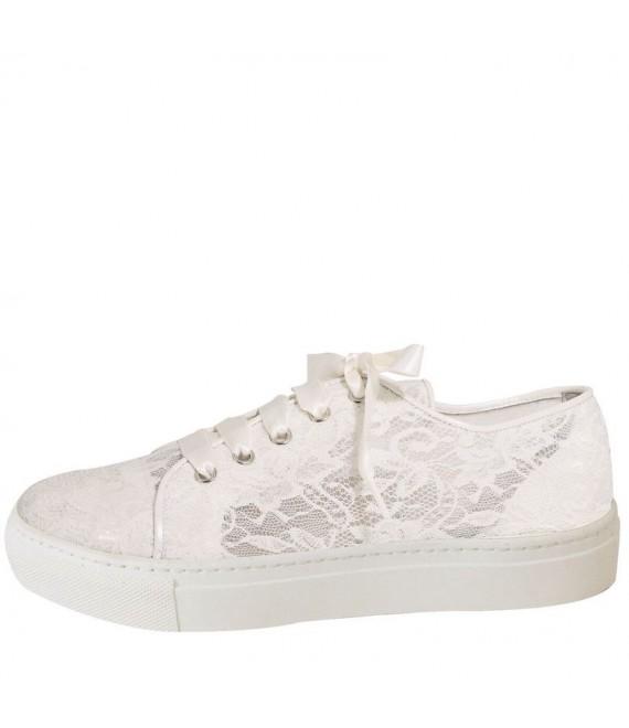 Fiarucci Bridal Chaussures de Mariée Baskets Nelli - The Beautiful Bride Shop 1