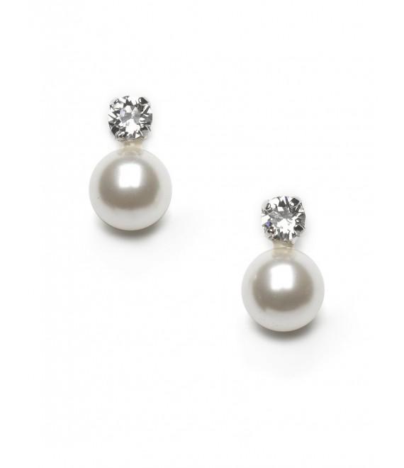 Boucles d'oreilles - Abrazi O5-SKT-10 - The Beautiful Bride Shop