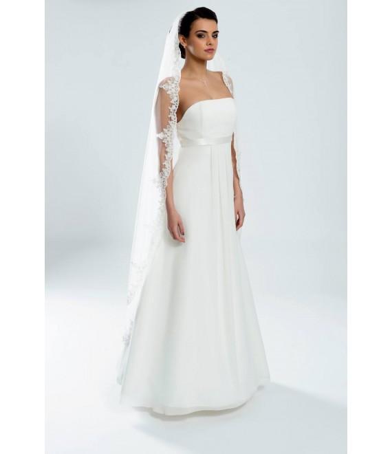 Bianco Evento Voile S102 - The Beautiful Bride Shop