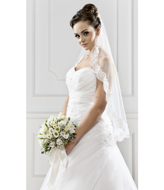 Voile S104 | Bianco Evento - The Beautiful Bride Shop 1