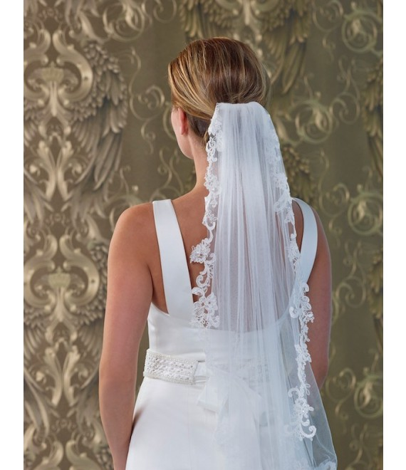 Voile S140-075 - Poirier | The Beautiful Bride Shop 1