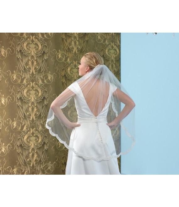 Veil S144-075 - Poirier | The Beautiful Bride Shop 1