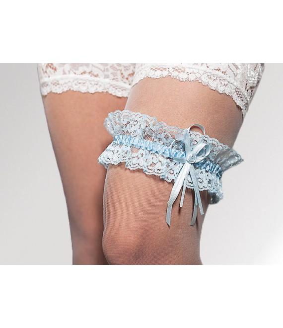 The Beautiful Bride Shop - Jarretière bleue (SB1-1839)