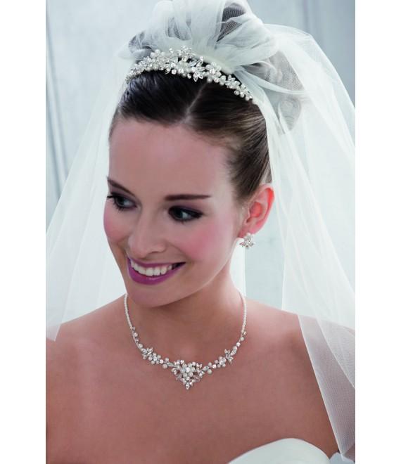 Emmerling Parure Boucles d'Oreilles et Collier 66110 - The Beautiful Bride Shop