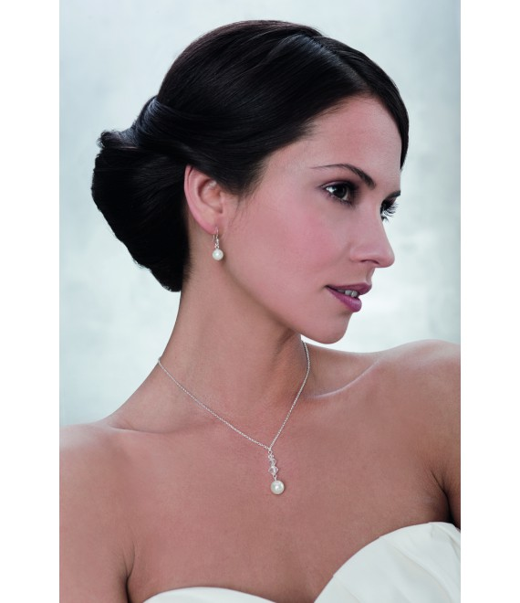 Emmerling  Parure Boucles d'Oreilles et Collier 66117 - The Beautiful Bride Shop