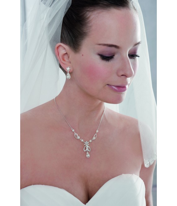 Emmerling Parure Boucles d'Oreilles et Collier 66121 - The Beautiful Bride Shop