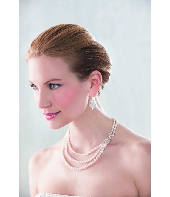 Emmerling Parure Boucles d'Oreilles et Collier 66150- The Beautiful Bride Shop