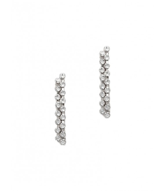 Boucles d'oreilles - Abrazi O6-DK - The Beautiful Bride Shop