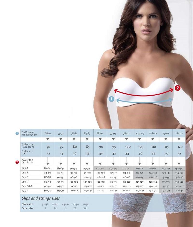 Determining the right Poirier lingerie size - The Beautiful Bride Shop 03021e199a5