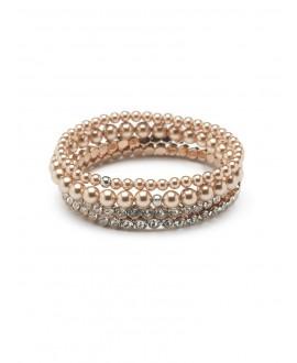Bracelet Scarlett 4B Rose   Abrazi