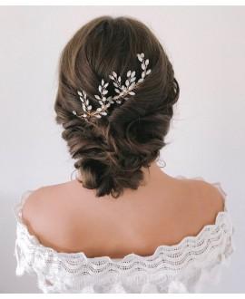 Abrazi Peigne Cheveux Mariage H2-NV OPAL
