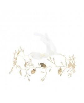 Abrazi Mèche de Cheveux Mariage HB-FD-Gold