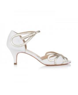 Rachel Simpson Chaussure Mariage Cecelia ivoire-blanc