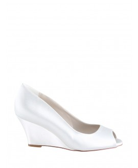 The Perfect Bridal Company Chaussures de Mariée Flora Satin
