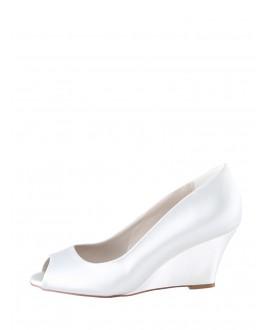 The Perfect Bridal Company Chaussures de Mariée Flora Satin