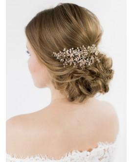 Abrazi Bandeau Cheveux Mariage HB-TREE Gold