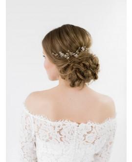 Abrazi Peigne Cheveux Mariage H2-Flower