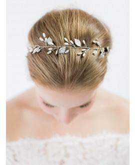 Abrazi Mèche de Cheveux Mariage HB-FD-Argent