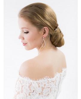 Abrazi Boucles d'oreilles Mariage O7-OV Rose