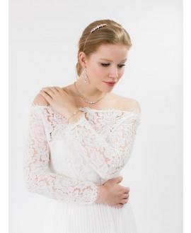 Abrazi Diadème Mariage HB-OVL Rose