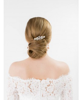 Abrazi l'ornement de cheveux Mariage HC-VO Rose