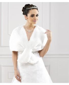 Cape pour la mariée E139