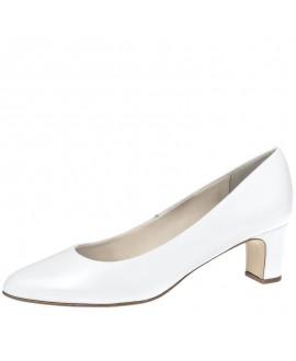 Fiarucci Bridal Chaussure de Mariage Anya Cuir Blanc