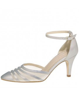 Fiarucci Bridal Chaussures de Mariée Cilla-Argent