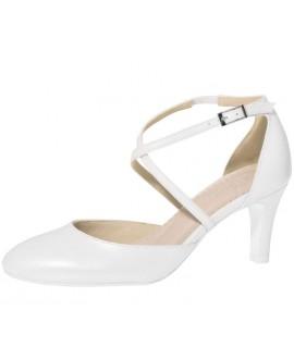 Fiarucci Bridal Chaussures de Mariée Merlinde Cuir Blanc