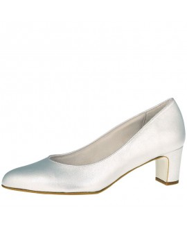 Fiarucci Bridal Chaussures de Mariée Palma Argent