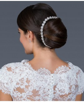 G. Westerleigh Bandeau Cheveux Mariage HS-J3766AS