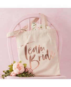 Ginger Ray Team Bride sac en lin FH-224