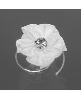 Curlies avec fleur et pierre de cristal