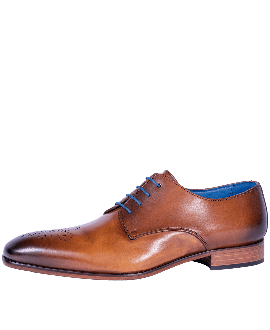 Mr. Fiarucci Chaussures de Mariage Homme Carlos Brandy