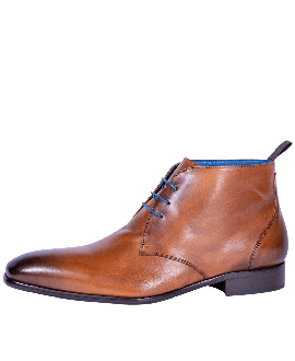 Mr. Fiarucci Chaussures de Mariage Homme Charley Brandy