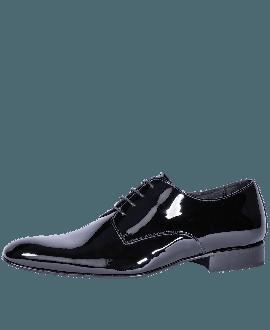 Mr. Fiarucci Chaussures de Mariage Homme Duco Black Patent