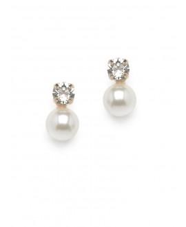 Boucles d'oreilles Scarlett O5-SKT-8 Rose | Abrazi
