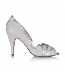 Rachel Simpson Chaussure Mariage Isabelle Porcelaine