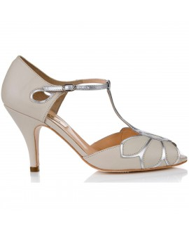 Rachel Simpson Chaussure Mariage Mimosa ivoire