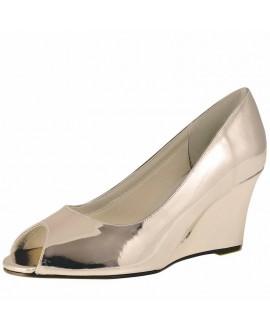 Rainbow Club Chaussures de Mariée Channa Or Rose Miroir
