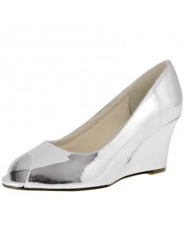 Rainbow Club Chaussures de Mariée Channa Argent Miroir