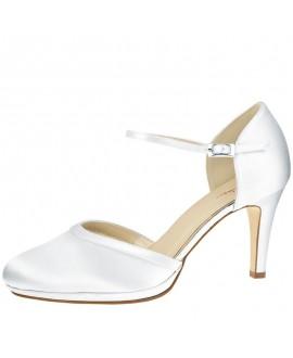 Rainbow Club Chaussure de Mariage Joni Satin Blanc